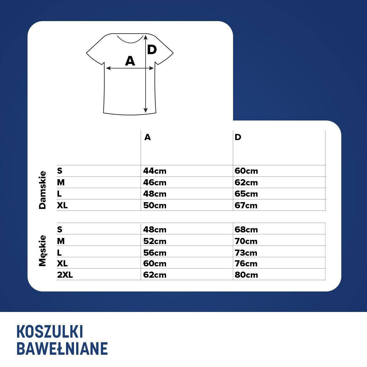 zakupy szczegółowe obrazy dobrze out x Koszulki – tabela rozmiarów | PZU Półmaraton Warszawski